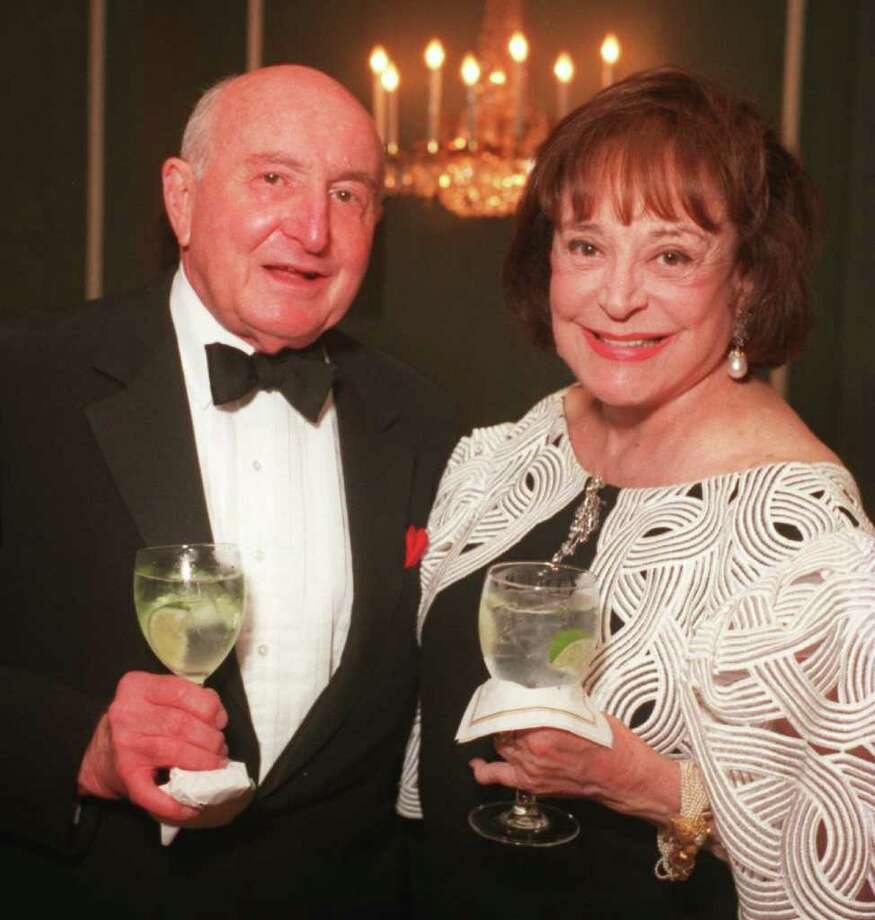 Ray Nasher and Nancy Hamon at The Mayors International Ball on May 19, 1996. Hamon's  $5 million bequest will be used to help fund the operation of the Stieren Center at the McNay Art Museum. Photo: Courtesy Photo