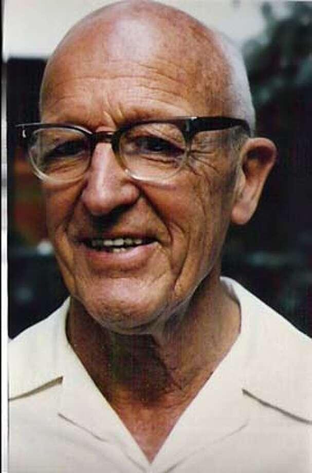 Obit photo of Hugh Bradner.  Photo courtesy Bari Cornet Photo: Photo Courtesy Bari Cornet