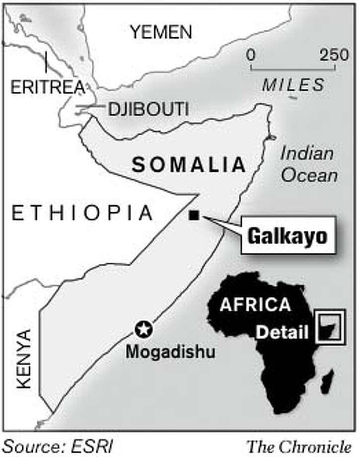 Galkayo. Chronicle Graphic