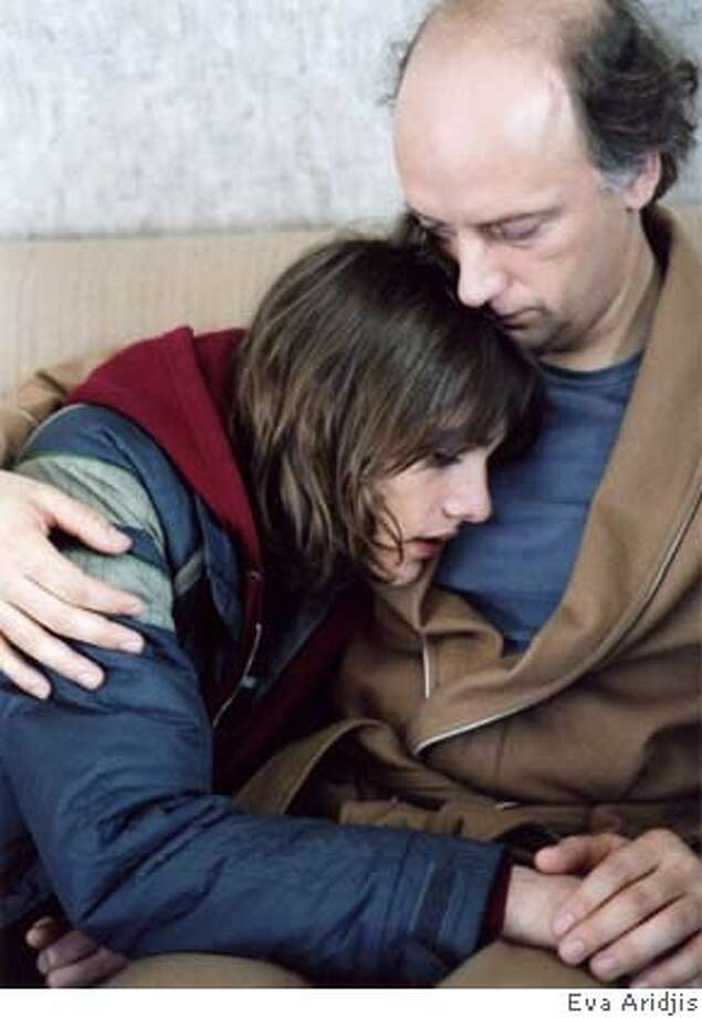 Lawrence Hull (Tony Award-winning actor Frank Wood) and Johnny (Ryan Donowho) Photo: Eva Aridjis