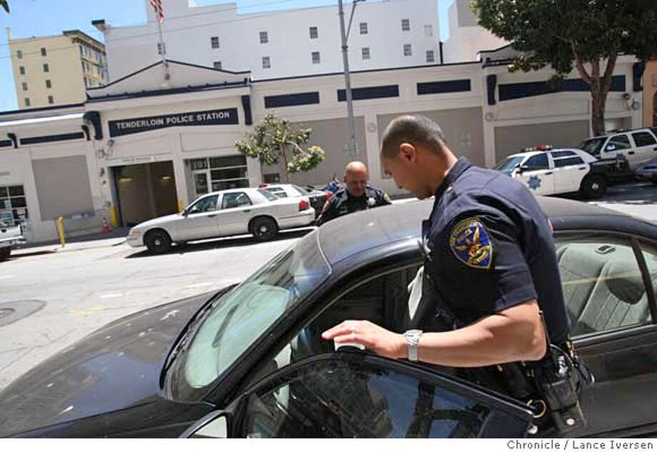###Live Caption:The new San Francisco controller's report on police redistricting suggests shuttering nearly half of the city's police stations including the Tenderloin station at 301 Eddy Street. Photographed in San Francisco, Calif, Tuesday May 13, 2008. By Lance Iversen / San Francisco Chronicle.###Caption History:The new San Francisco controller's report on police redistricting suggests shuttering nearly half of the city's police stations including the Tenderloin station at 301 Eddy Street. Photographed in San Francisco, Calif, Tuesday May 13, 2008. By Lance Iversen / San Francisco Chronicle.###Notes:Lance Iversen 415-2979395  CQ###Special Instructions:MANDATORY CREDIT PHOTOG AND SAN FRANCISCO CHRONICLE. Photo: LANCE IVERSEN