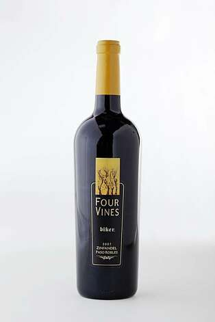 2007 Four Vines Biker Paso Robles Zinfandel in San Francisco, Calif., on October 7, 2009. Photo: Craig Lee, Special To The Chronicle