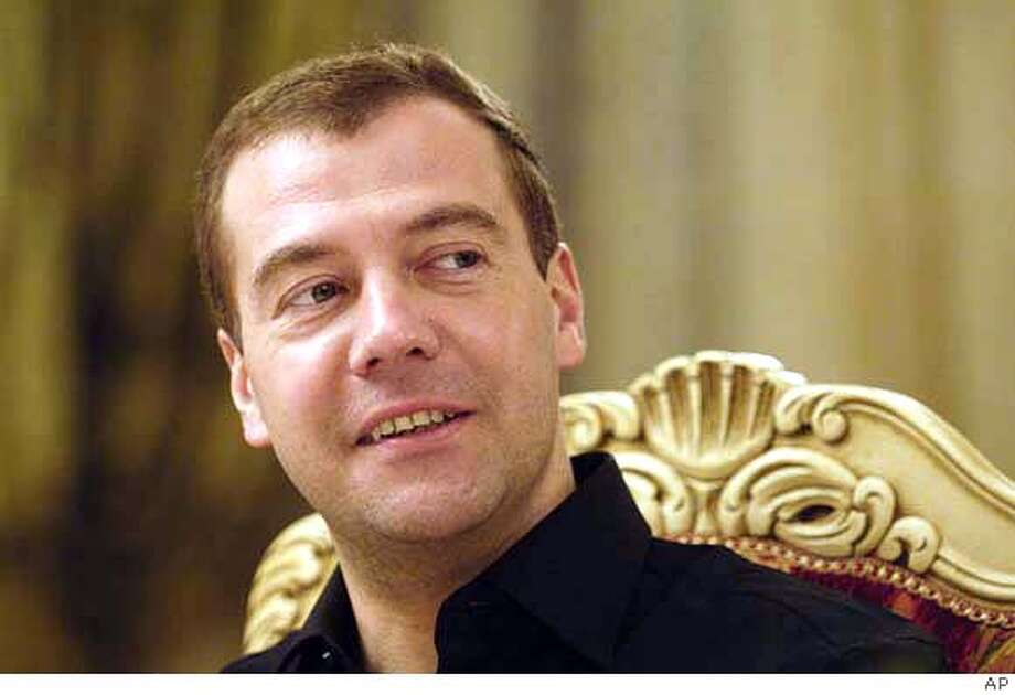 Dmitry Medvedev Photo: Assoicated Press