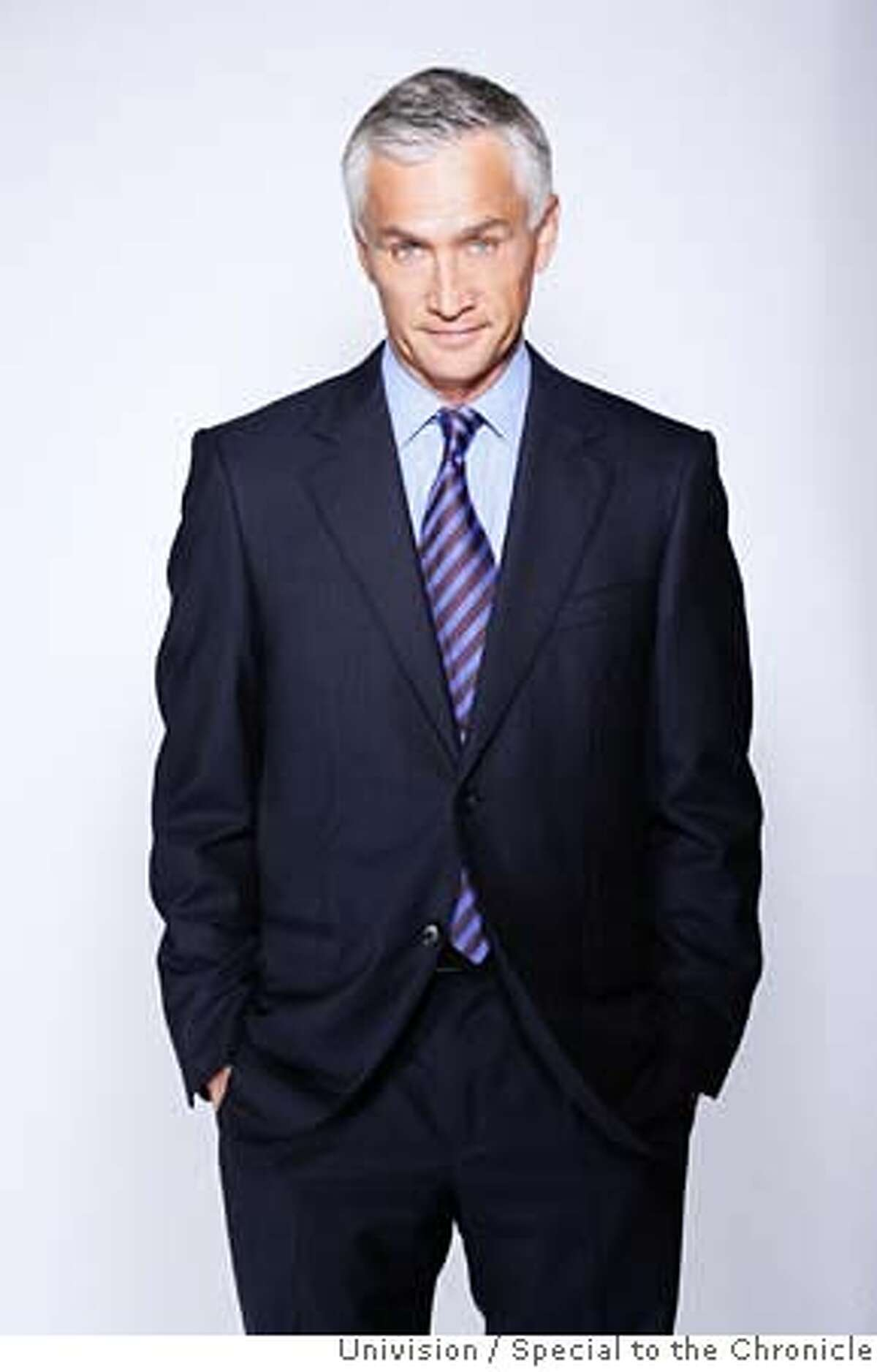 ###Live Caption:Undated photo of television news anchor Jorge Ramos. Photo Courtesy: Univision / Special to the Chronicle###Caption History:Undated photo of Jorge Ramos. Photo Courtesy: Special to the Chronicle###Notes:###Special Instructions: