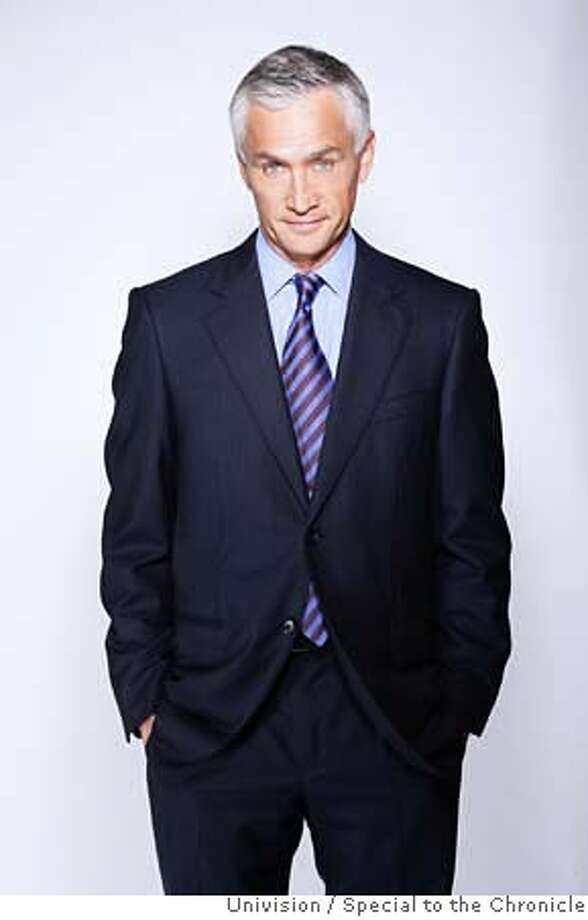 ###Live Caption:Undated photo of television news anchor Jorge Ramos. Photo Courtesy: Univision / Special to the Chronicle###Caption History:Undated photo of Jorge Ramos. Photo Courtesy: Special to the Chronicle###Notes:###Special Instructions: Photo: Univision
