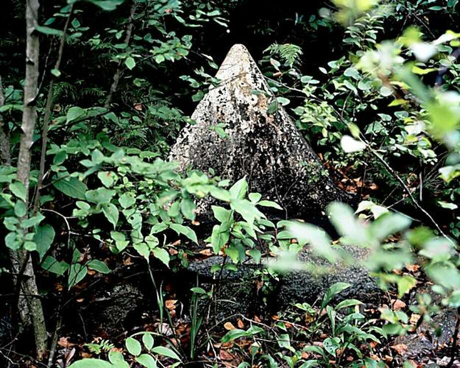 """Nature converges with the spiritually portentous in Gigi Gatewood's photograph """"Pyramid,"""" part of the """"Interrupting a Beam of Light"""" group show.  pyramid_1 001 Photo: Gigi Gatewood Photo"""
