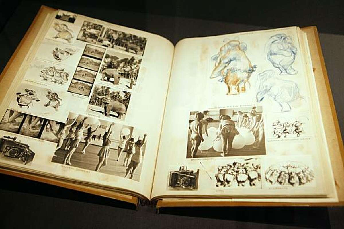 The Schultheis Notebook is on display in Gallery 5 at the The Walt Disney Family Museum on Friday Sep. 18, 2009 in San Francisco, Calif.
