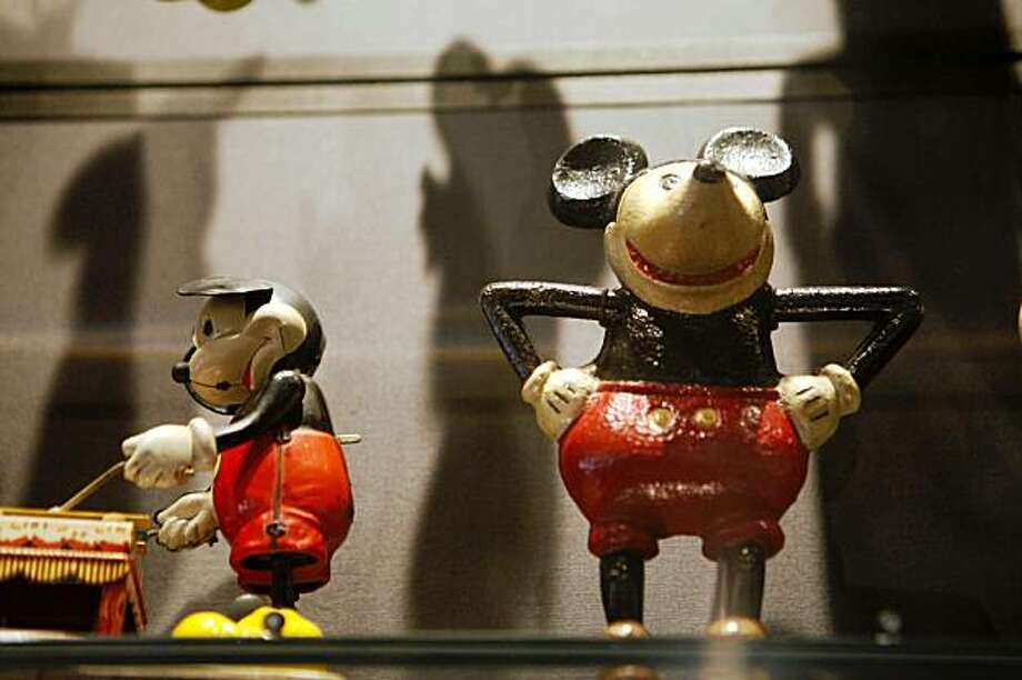 Mickey Mouse memorabilia is on display at the The Walt Disney Family Museum on Friday Sep. 18, 2009 in San Francisco, Calif. Photo: Mike Kepka, The Chronicle