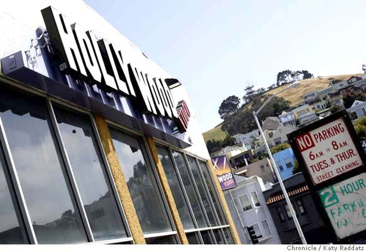 ###Live Caption:The surrounding neighborhood is reflected in the windows of the Hollywood Video store, now vacant, at 1575 South Van Ness, corner of Cesar Chavez, in San Francisco, Calif. on Monday, May 5, 2008. Photo by Katy Raddatz / San Francisco Chronicle###Caption History:The surrounding neighborhood is reflected in the windows of the Hollywood Video store, now vacant, at 1575 South Van Ness, corner of Cesar Chavez, in San Francisco, Calif. on Monday, May 5, 2008. Photo by Katy Raddatz / San Francisco Chronicle###Notes:chainstore###Special Instructions:MANDATORY CREDIT FOR PHOTOG AND SAN FRANCISCO CHRONICLE/NO SALES-MAGS OUT