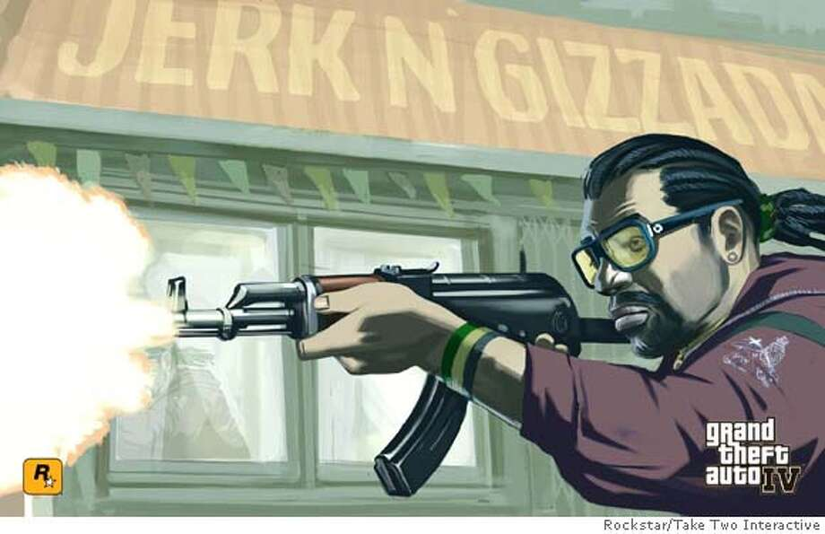 a promo image from grand theft auto 4, by rockstar/take two interactive. Photo: Rockstar