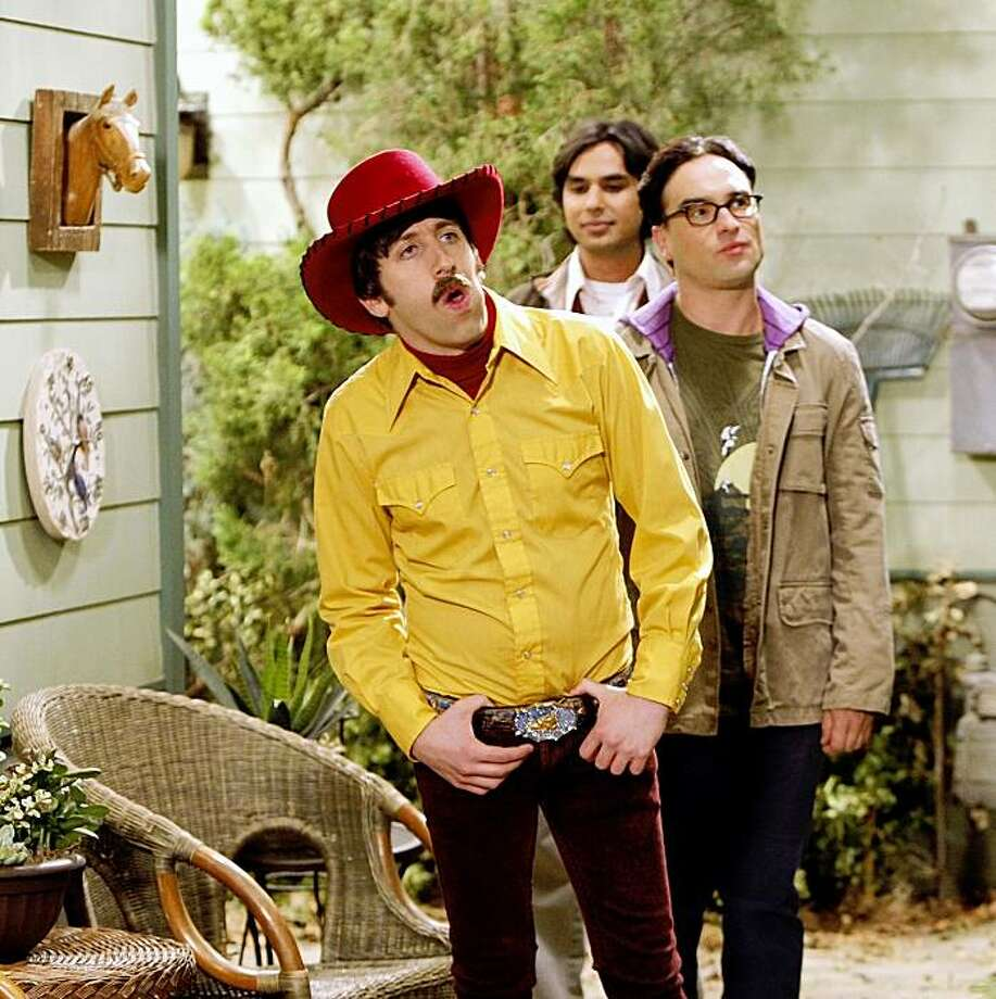 """""""The Electric Can Opener Fluctuation"""" Ð After Sheldon flees to Texas, the gang, (Simon Helberg, Johnny Galecki, and Kunal Nayyar) follows him in an effort to bring him back home, on the season three premiere episode of THE BIG BANG THEORY, Monday, Sept. 21 (9:30-10:00 PM, ET/PT) on the CBS Television Network. Photo: Sonja Flemming/ CBS ©2009 CBS Broadcasting Inc. All Rights Reserved. Photo: Sonja Flemming, CBS"""