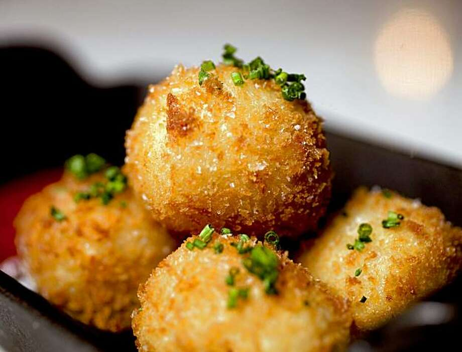 Bacon tater tots at Fish & Farm Restaurant  in San Francisco, Calif. on Thursday, Sept. 17, 2009. Photo: Stephen Lam, The Chronicle