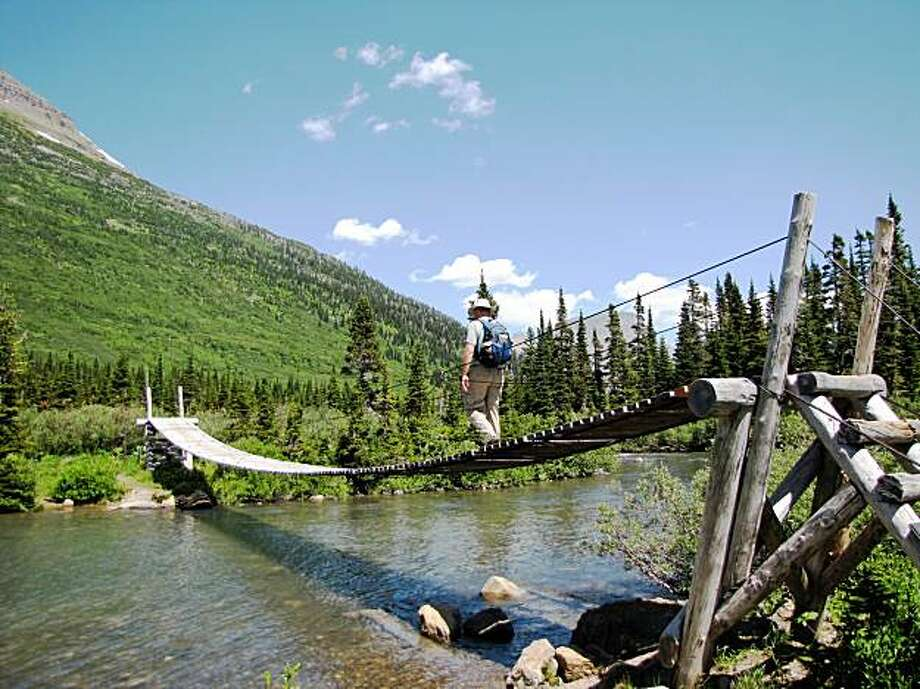Hiking in Glacier National Park. Photo: Josh Green, Special To The Chronicle