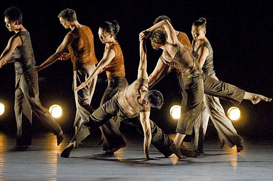 "GMDC and Margaret Jenkins Dance Company: ""Other Suns: A TRilogy"" Photo: Lin Xiaoyi"