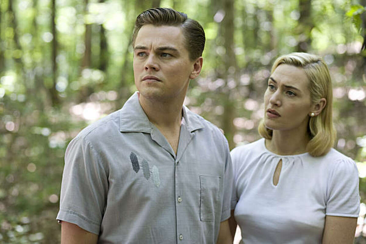 "Kate Winslet and Leonardo DiCaprio in ""Revolutionary Road."""