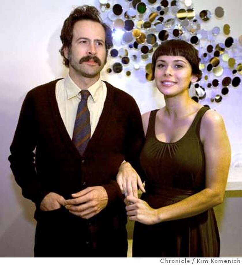 Honoree Jason Lee and his partner ceran alkac arrive at the San Francisco International Film Festival's Midnight Awards party at the W Hotel in San Francisco, Calif., on Saturday, April 26, 2008 Photo by Kim Komenich / San Francisco Chronicle Photo: Kim Komenich