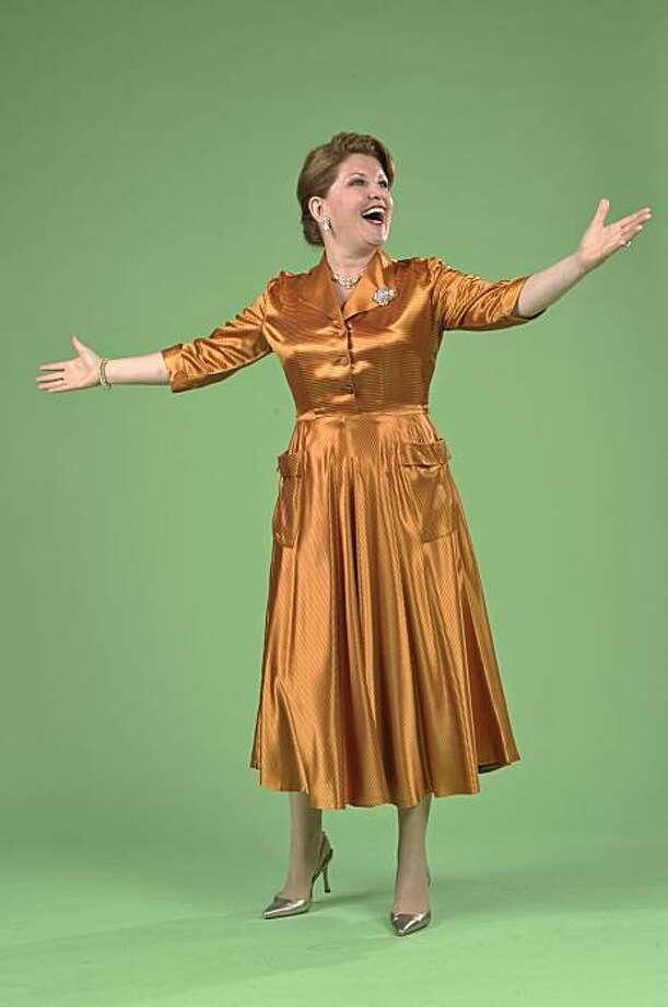 "Klea Blackhurst stars in 42nd Street Moon's revival of Irving Berlin's ""Call Me Madam"" Photo: David Allen"