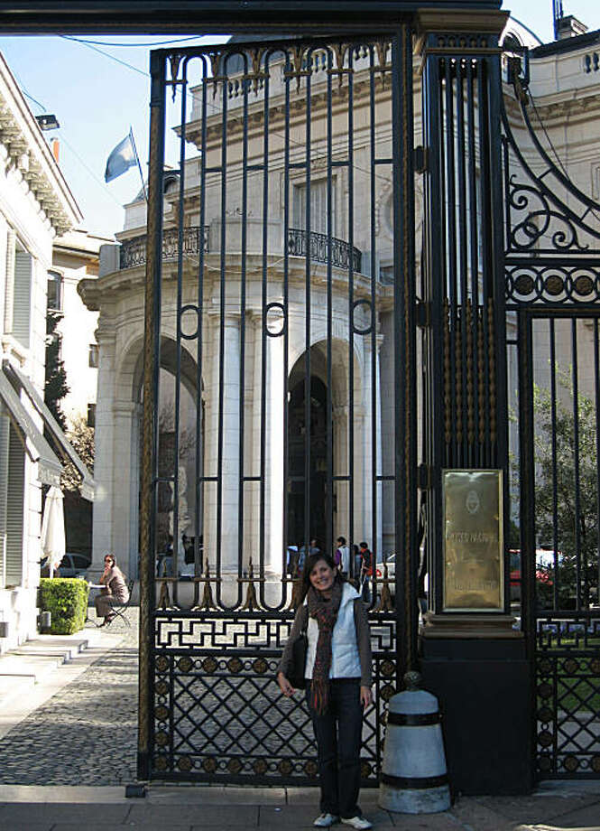 Maria Martinez Florence at the Museo Nacional de Arte Decorativo in Buenos Aires, Argentina Photo: NA