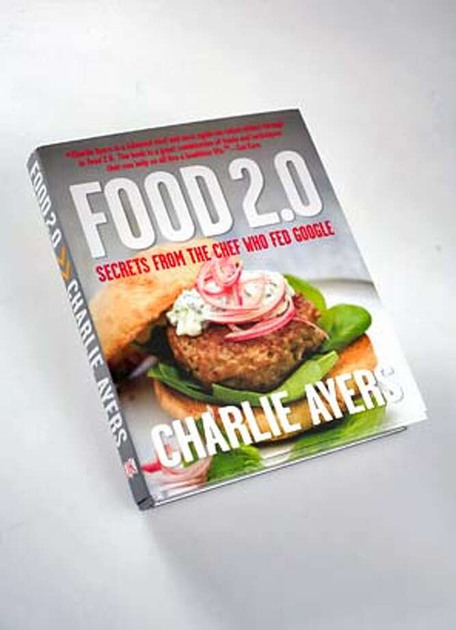 "###Live Caption:BOOK_AYERS_JOHNLEE.JPG  MAY 1, 2008: ""Food 2.0,"" by Charlie Ayers.  BY JOHN LEE / SPECIAL TO THE CHRONICLE###Caption History:BOOK_AYERS_JOHNLEE.JPG  MAY 1, 2008: ""Food 2.0,"" by Charlie Ayers.  BY JOHN LEE / SPECIAL TO THE CHRONICLE###Notes:###Special Instructions: Photo: John Lee"