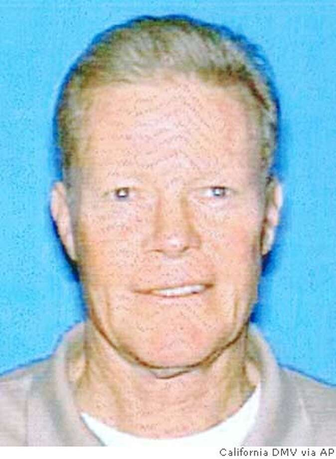 This image provided by the California Department of Motor Vehicles shows Dave Martin who died Friday April 25, 2008 after being bitten by a shark off Solana Beach, Calif., near San Diego. Martin was swimming with his triathlon training group before the attack. (AP Photo/California Department of Motor Vehicles)