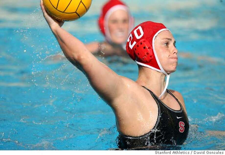 Stanford water polo player Lauren Silver during Stanford's 9-2 win over Cal State Northridge at the Avery Aquatic Center in Stanford, CA, on February 19, 2007. Photo: David Gonzales / Stanford Athletics / Special to the Chronicle  Rights: No restrictions Photo: Adf