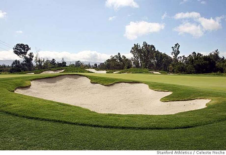 ###Live Caption:This bunker is part of the Mackenzie practice site at the Siebel Varsity Golf Training Complex at Stanford, CA. Photo taken April 14, 2007.  Photo by Celeste Noche / Stanford Athletics###Caption History:This bunker is part of the Mackenzie practice site at the Siebel Varsity Golf Training Complex at Stanford, CA. Photo taken April 14, 2007.  Photo by Celeste Noche / Stanford Athletics###Notes:###Special Instructions: Photo: Celeste Noche