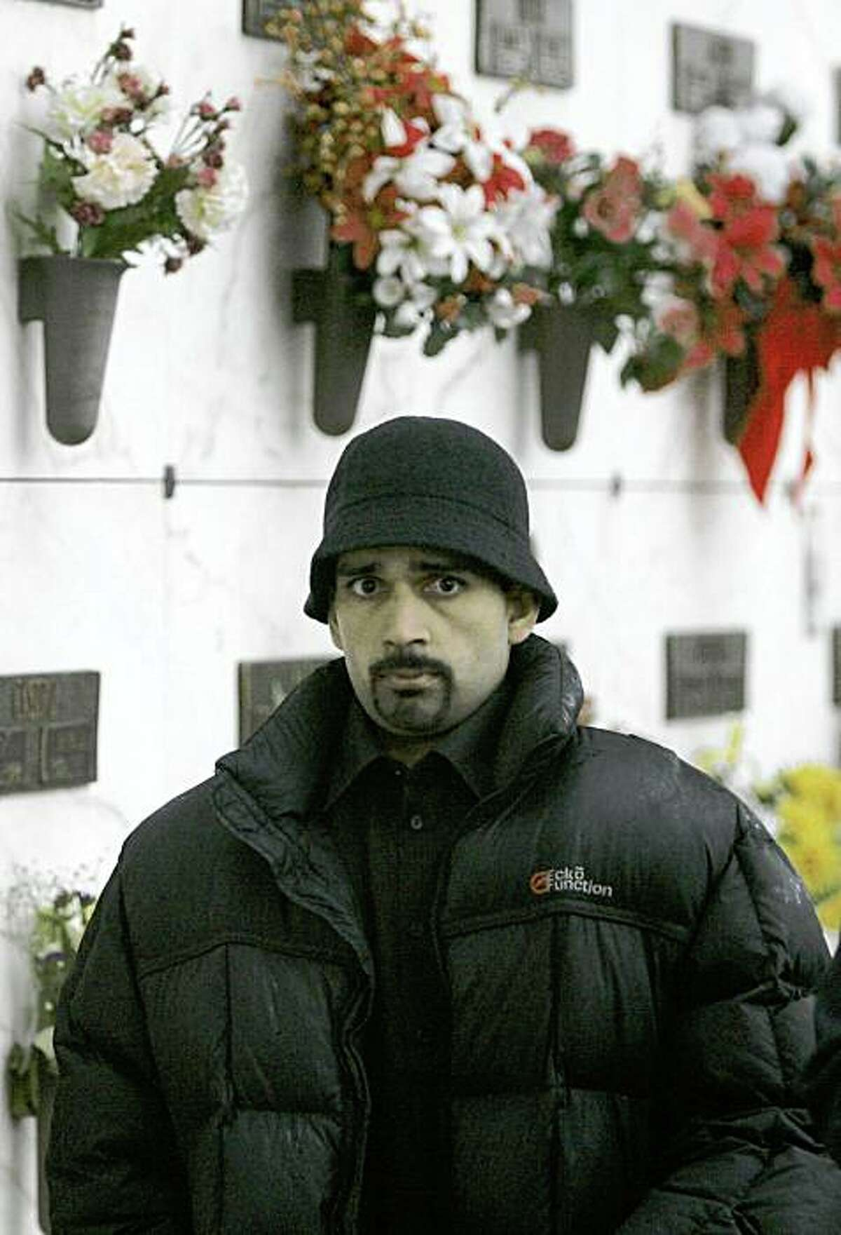 **FILE** Kulbir Dhaliwal attends the burial of his friend Carlos Sousa Jr. in San Jose, Calif., in this Tuesday, Jan. 8, 2008, file photo. Sousa Jr. was killed by a Siberian tiger that escaped its enclosure at the San Francisco Zoo on Dec. 25, 2007. Dhaliwal told police that he, his brother Paul, and Sousa Jr. had smoked pot and had