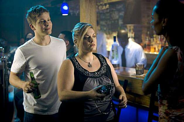 "Matt Czuchry and Marika Dominczyk in a scene from, ""I Hope They Serve Beer in Hell."" Photo: Steve Dietl"