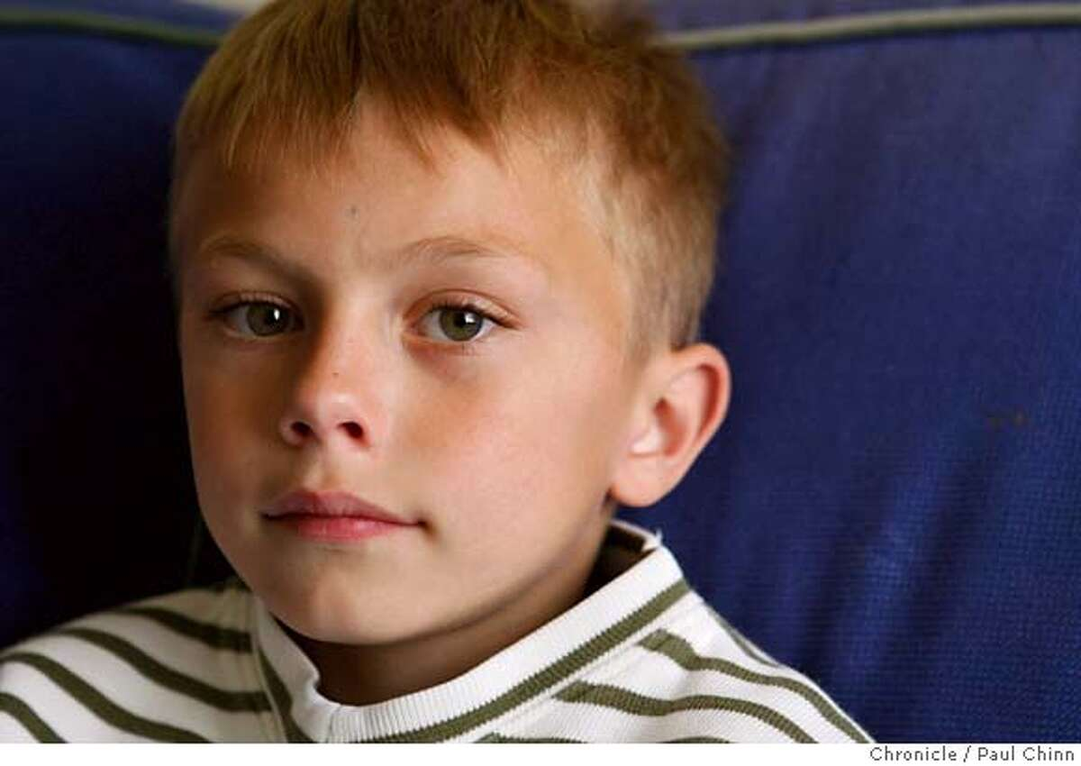###Live Caption:First-grader Zachary Caltaldo rests at his home in Oakland, Calif., on Wednesday, April 23, 2008 after spending a night at Children's Hospital following an attack by a bully at Piedmont Elementary School. Photo by Paul Chinn / San Francisco Chronicle###Caption History:First-grader Zachary Caltaldo rests at his home in Oakland, Calif., on Wednesday, April 23, 2008 after spending a night at Children's Hospital following an attack by a bully at Piedmont Elementary School. Photo by Paul Chinn / San Francisco Chronicle###Notes:Zachary Caltaldo###Special Instructions:MANDATORY CREDIT FOR PHOTOGRAPHER AND S.F. CHRONICLE/NO SALES - MAGS OUT