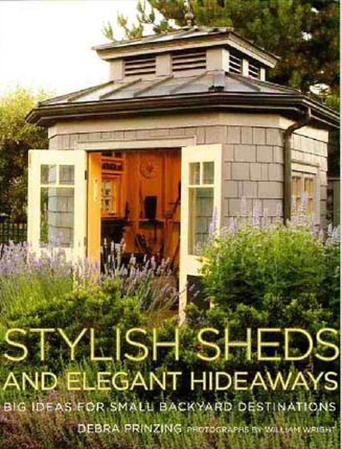 ###Live Caption:Stylish Sheds and Elegant Hideaways by Debra Prinzing (Clarkson Potter) will hit bookstores April 29, 2008###Caption History:Stylish Sheds and Elegant Hideaways by Debra Prinzing (Clarkson Potter) will hit bookstores April 29, 2008###Notes:###Special Instructions: Photo: Clarkson Potter