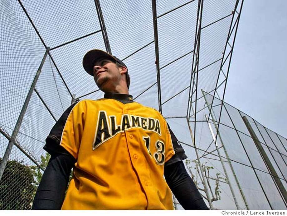 ###Live Caption:Alameda High pitcher/infielder Jordan Pries, warms up with the team prior to their game with Hercules Friday May 2, 2008 Pries will attend Stanford next year. Photographed in Alameda Calif, Photo By Lance Iversen / San Francisco Chronicle###Caption History:Alameda High pitcher/infielder Jordan Pries, warms up with the team prior to their game with Hercules Friday May 2, 2008 Pries will attend Stanford next year. Photographed in Alameda Calif, Photo By Lance Iversen / San Francisco Chronicle###Notes:Lance Iversen 415-2979395  CQ Pries###Special Instructions:MANDATORY CREDIT PHOTOG AND SAN FRANCISCO CHRONICLE. Photo: LANCE IVERSEN