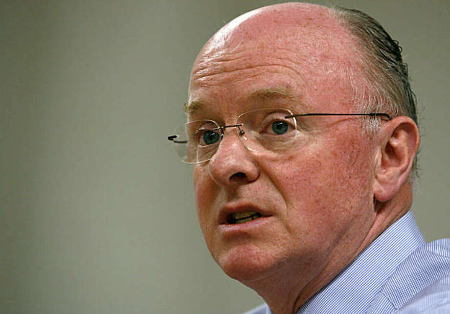 Chevron chief executive officer David O'Reilly is interviewed by Chronicle Business editors and writers in San Francisco, Calif. on Wednesday, July 19, 2006. Photo: Paul Chinn, The Chronicle