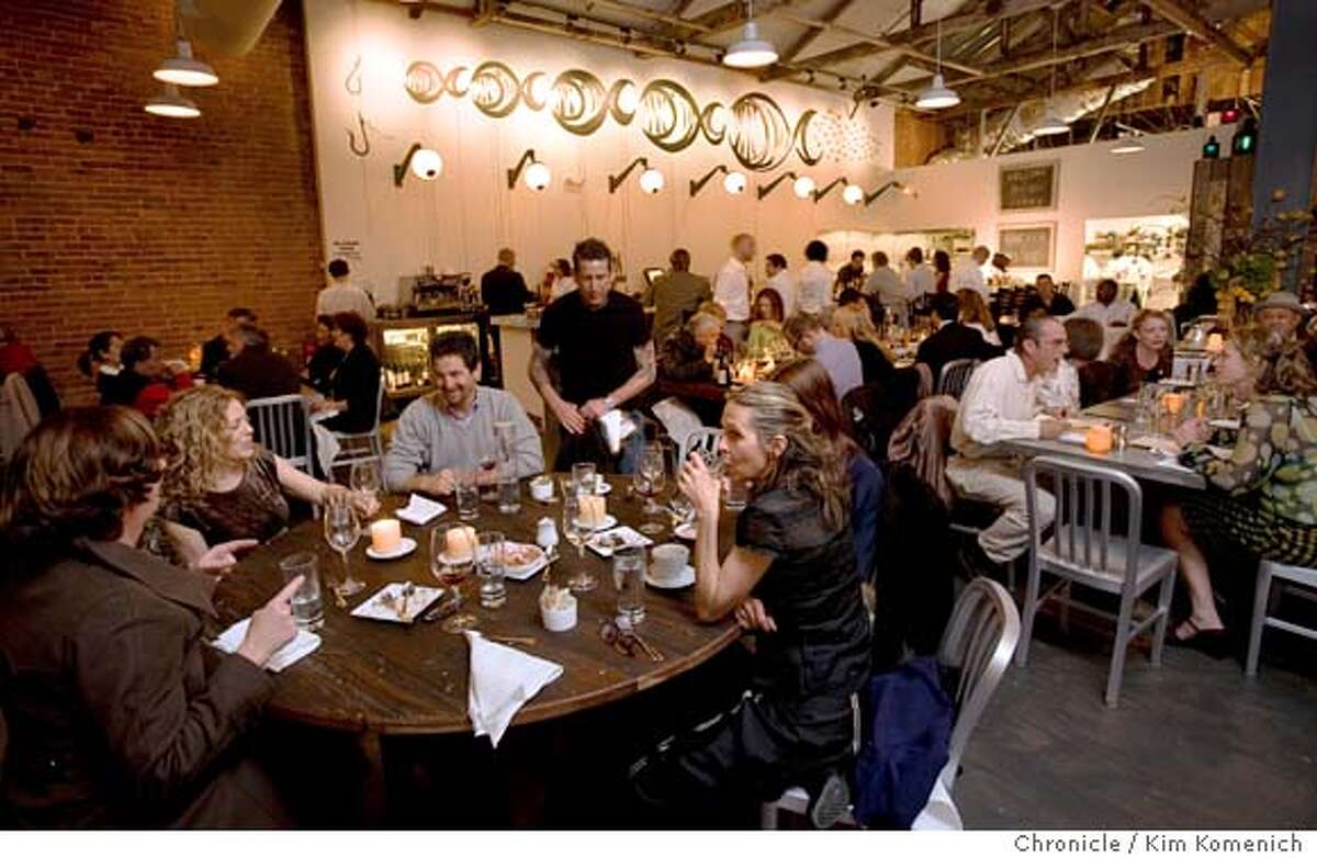 The Anchor & Hope Restaurant at 83 Minna St. in San Francisco Calif. is photographed on April 19, 2008. It opens to the public on April 22. Photo by Kim Komenich / San Francisco Chronicle Ran on: 04-23-2008 Photo caption