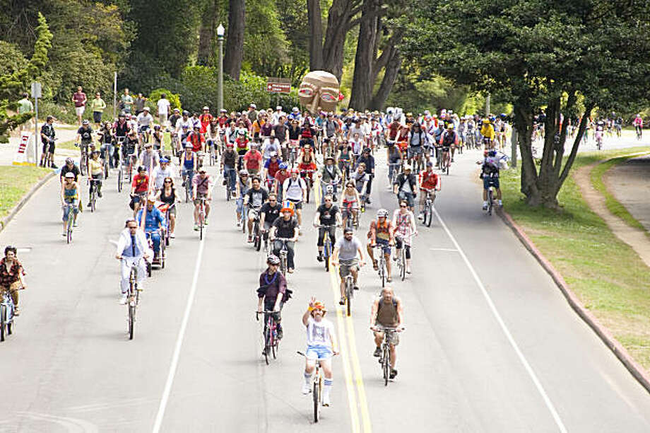The annual bikes and beer celebration, Tour De Fat,  takes place on Saturday, September 26th at Speedway Meadow in Golden Gate Park. Photo: Courtesy, Anita Bowen