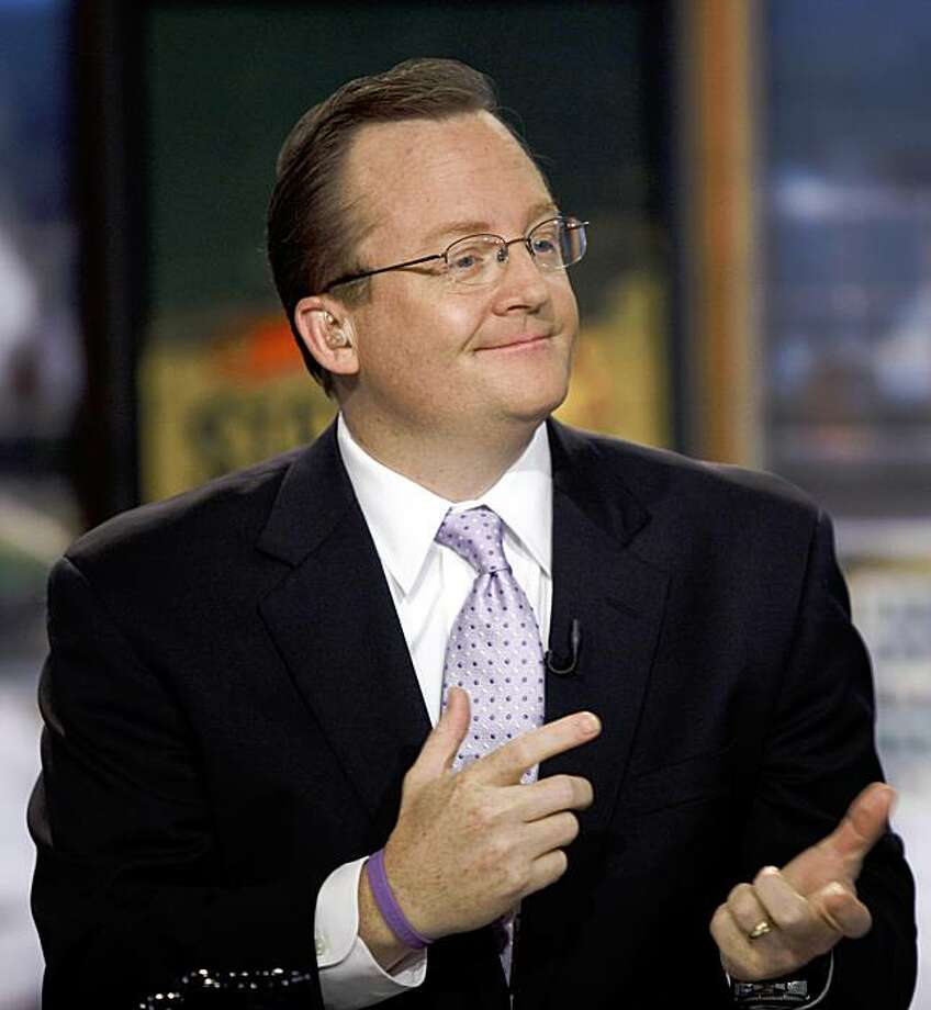 White House press secretary Robert Gibbs is interviewed on CNN's State of the Union on Sunday, Sept. 13, 2009, in Washington. (AP Photo/Evan Vucci) Photo: Evan Vucci, AP