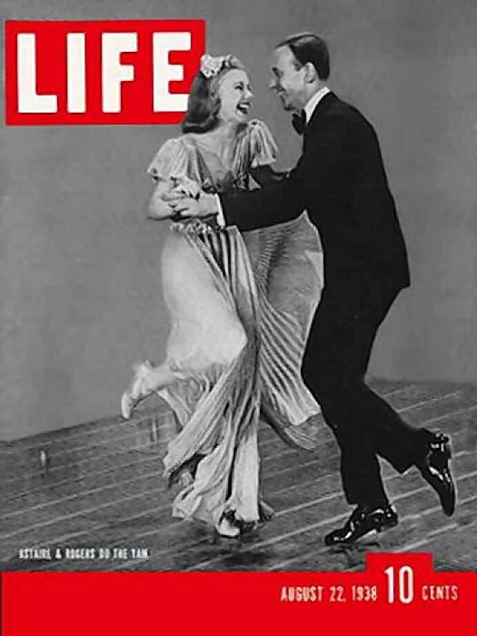 Cover of Life magazine ginger rogers and fred astair photographed bt Rex Hardy. Photo: The Chronicle