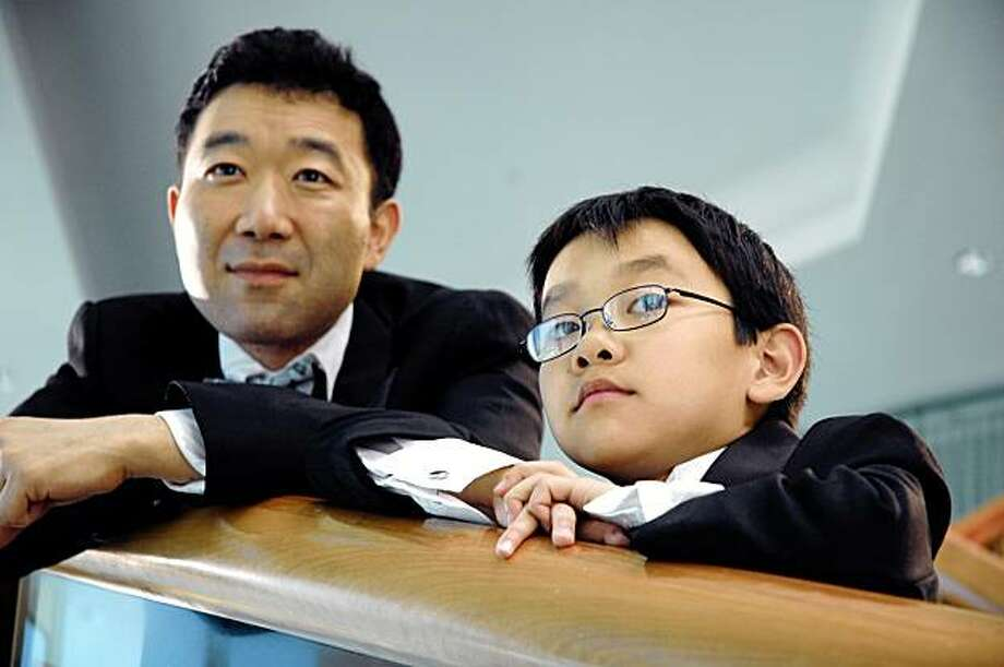 "Jimmy (Hiroshi Watanabe) and his nephew, 10-year-old Bob (Juston Kwong) in Dave Boyle's 2009 film ""White on Rice."" Photo: Tiger Industry Films"