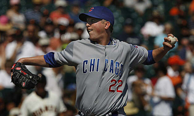 Cubs starter Tom Gorzelanny allowed one run and five hits, while striking out five and walking three. Photo: Frederic Larson, The Chronicle