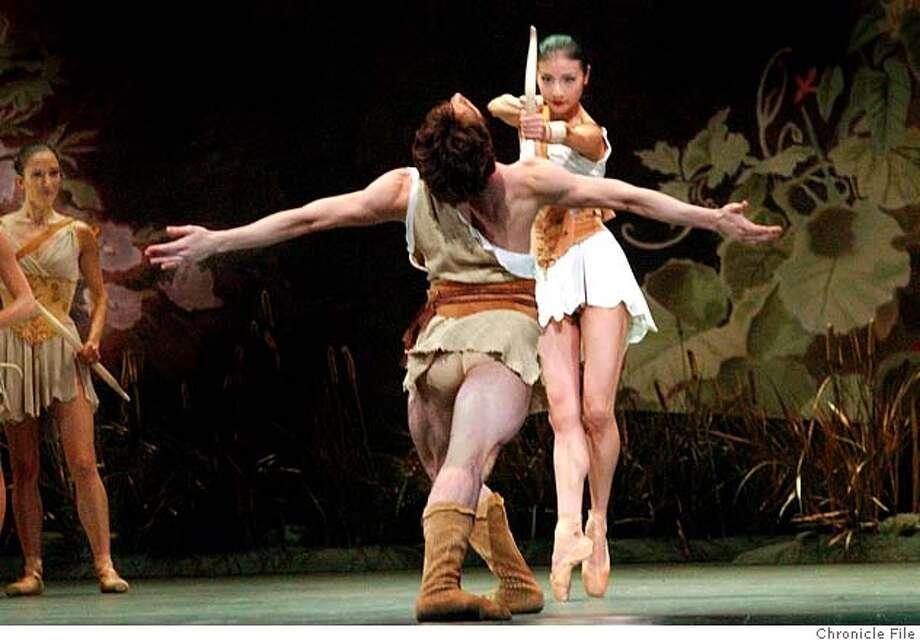 PROGRAM X (ck this as P.R. info says program 8)  of the sf ballet photo taken on 4/29/04 in San Francisco, CA.  photo by Penni Gladstone/The San Francisco Chronicle Photo: Penni Gladstone