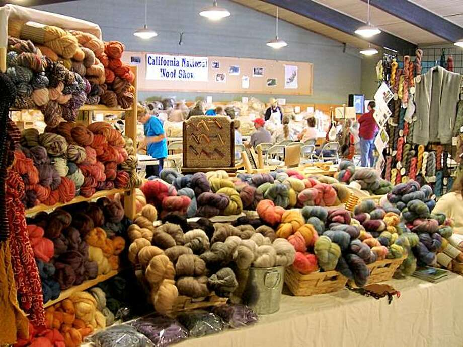 Boonville's California Wool and Fiber Festival Photo: Brooke Sinnes