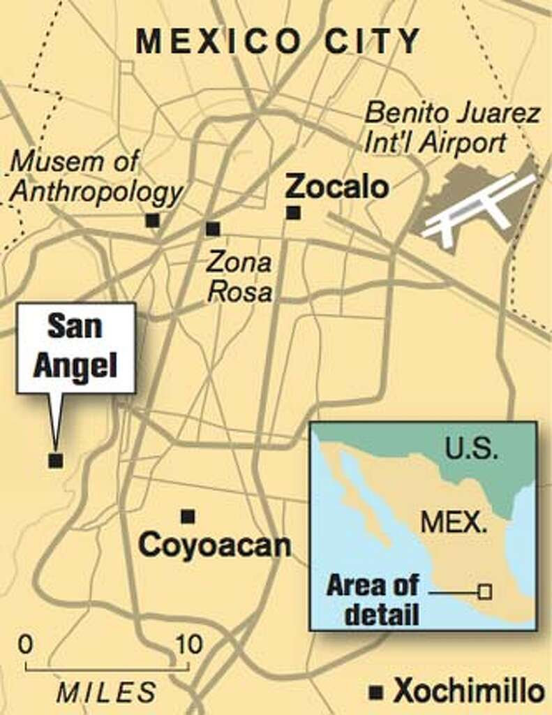San Angel a quieter alternative to Coyoacn SFGate