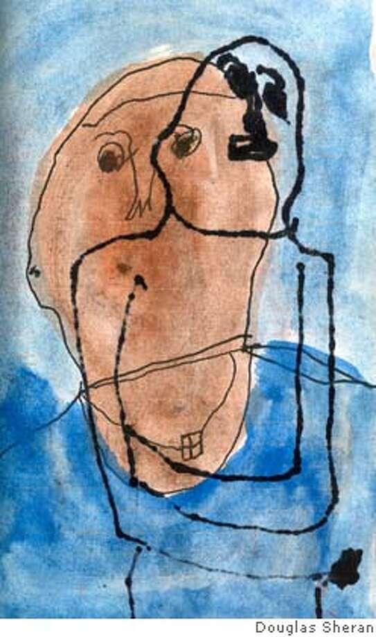 "Douglas Sheran's piece in Creativity Explored's ""Quarter Century"" show Photo: Douglas Sheran"