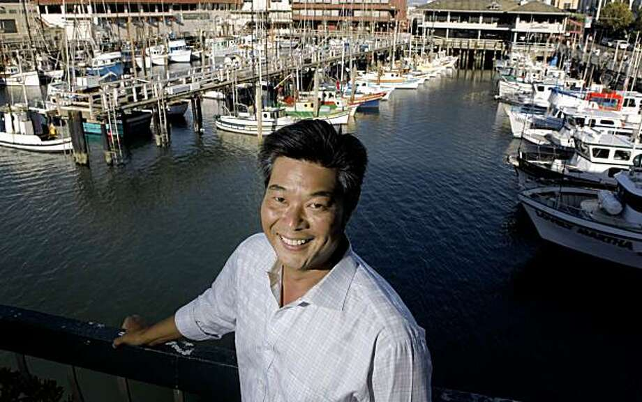 Native son column on Rodney Fong who is president of wax musuem, San Francisco Port Commission and Convention and Vistor's Bureau. Photo: Carlos Avila Gonzalez, The Chronicle