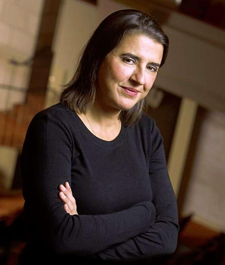 Violonist and music director Nadja Salerno-Sonnenberg Photo: Jim Block