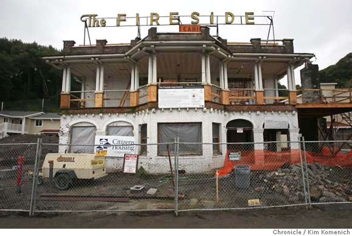 ###Live Caption:The Fireside, photographed in Mill Valley, Calif., on March 29, 2008, has a colorful past as a former prohibition-era speakeasy and watering hole. A controversy has arisen recently after Fireside construction workers unearthed human bones, possibly those of area Indians, during a remodeling job. Photo by Kim Komenich / San Francisco Chronicle###Caption History:The Fireside, photographed in Mill Valley, Calif., on March 29, 2008, has a colorful past as a former prohibition-era speakeasy and watering hole. A controversy has arisen recently after Fireside construction workers unearthed human bones, possibly those of area Indians, during a remodeling job. Photo by Kim Komenich / San Francisco Chronicle###Notes:The Fireside is actually a historic building, says Nick Tipon, chairman of the Sacred Sites Protection Committee for the Federated Indians of Graton Rancheria, representing both the Coast Miwok and Southern Pomo. ?'In the vicinity there is a prehistori###Special Instructions:MANDATORY CREDIT FOR PHOTOG AND SF CHRONICLE/NO SALES-MAGS OUT