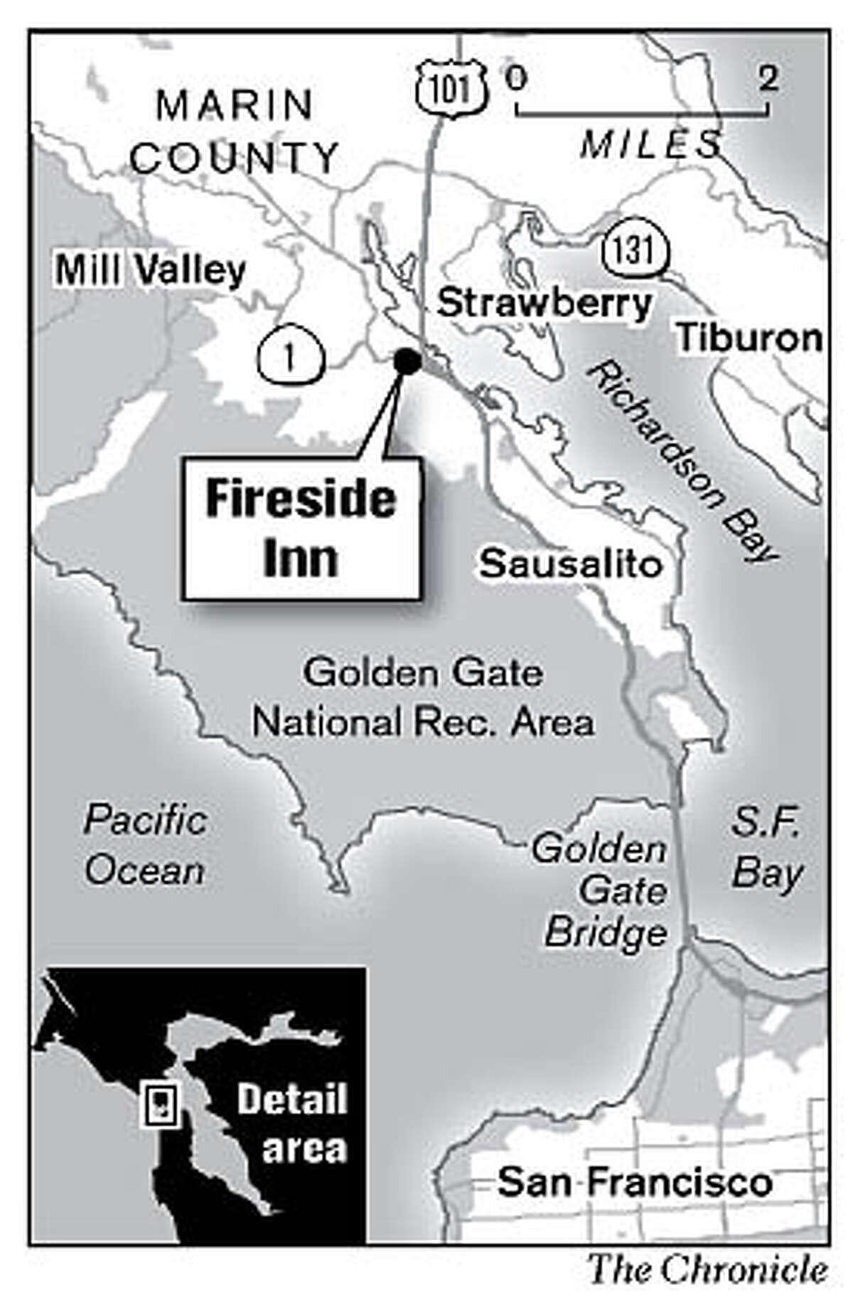 Fireside Inn. Chronicle Graphic