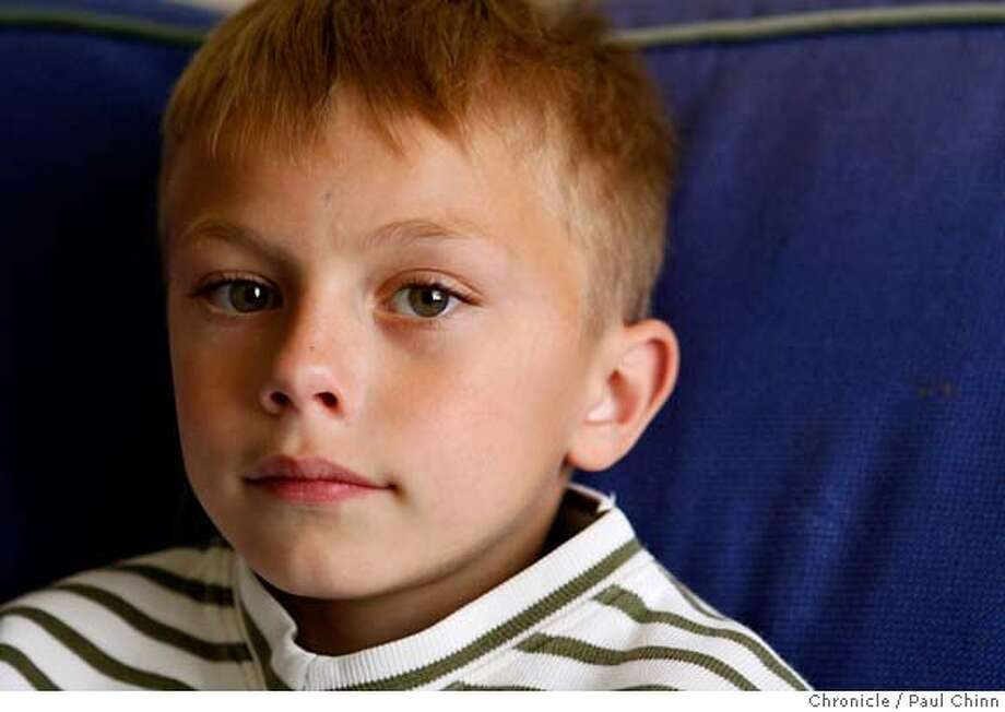 ###Live Caption:First-grader Zachary Cataldo rests at his home in Oakland, Calif., on Wednesday, April 23, 2008 after spending a night at Children's Hospital following an attack by a bully at Piedmont Elementary School.  Photo by Paul Chinn / San Francisco Chronicle###Caption History:First-grader Zachary Caltaldo rests at his home in Oakland, Calif., on Wednesday, April 23, 2008 after spending a night at Children's Hospital following an attack by a bully at Piedmont Elementary School.  Photo by Paul Chinn / San Francisco Chronicle  Ran on: 04-24-2008  Zachary Cataldo, 7, has been the victim of three attacks at his Oakland elementary school.  Ran on: 04-24-2008  Zachary Cataldo, 7, has been the victim of three attacks at his Oakland elementary school.###Notes:Zachary Caltaldo###Special Instructions:MANDATORY CREDIT FOR PHOTOGRAPHER AND S.F. CHRONICLE/NO SALES - MAGS OUT Photo: Paul Chinn