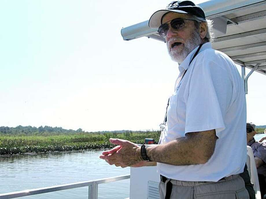 SHIPWRECK: Ralph Eshelman helped find part of the American flotilla that defended the Chesapeake Bay from the British during the War of 1812. Illustrates SHIPWRECK (category a), by Steve Vogel (c) 2009, The Washington Post. Moved Monday, Sept. 14, 2009. (MUST CREDIT: Washington Post photo by Steve Vogel.)  Ralph Eshelman helped find part of the American flotilla that defended the Chesapeake Bay from the British during the War of 1812. Illustrates SHIPWRECK (category a), by Steve Vogel (c) 2009, The Washington Post. Moved Monday, Sept. 14, 2009. (MUST CREDIT: Washington Post photo by Steve Vogel.) Photo: Steve Vogel, Washington Post