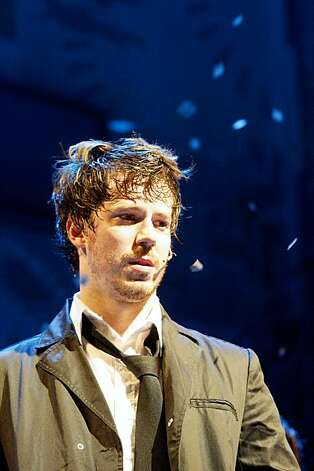 "John Gallagher, Jr. playing Johnny during the final dress rehearsal for Berkeley Rep's Roda Theatre world premiere of ""American Idiot, "" a new musical adaptation of Green Day's  album of same name, directed by Michael Mayer in Berkeley, Calif., on Thursday, September 3, 2009. Photo: Liz Hafalia, The Chronicle"