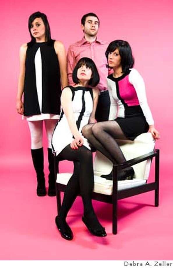 The Ian Fays are (from left to right) Lena Fay, Bradley Fay, Lizz Fay, Sara Fay Photo: Debra A. Zeller
